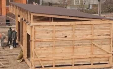 Крыша односкатная своими руками схема 100