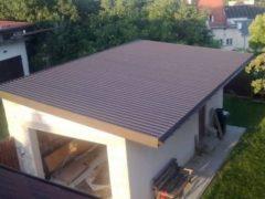Какое покрытие выбрать для крыши гаража