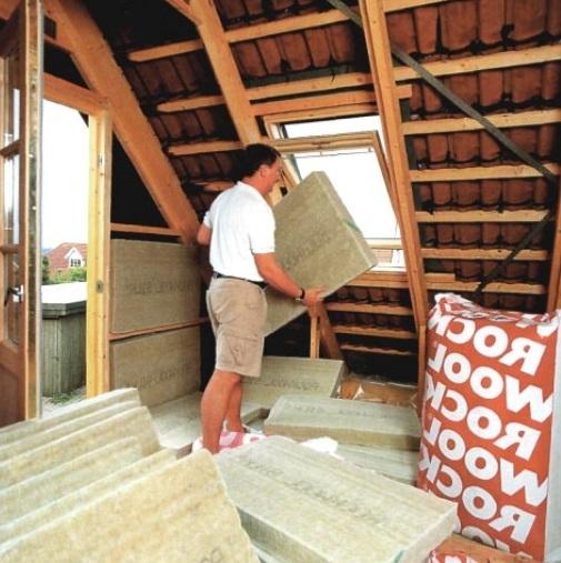 Как утеплить крышу в бане