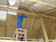 Мансарда частного дома: материалы для утепления, принципы работы