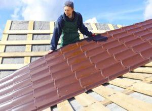 Как правильно рассчитать металлочерепицу на крышу